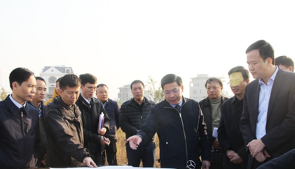 Bắc Giang: Kịp thời tháo gỡ khó khăn, đẩy nhanh tiến độ các dự án giao thông trên địa bàn tỉnh