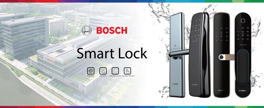 Lợi ích khi sử dụng khóa cửa điện tử Bosch