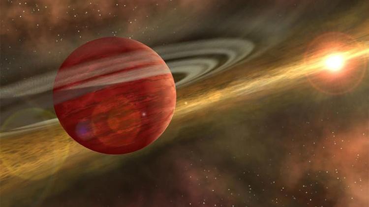 Phát hiện hành tinh đang hình thành