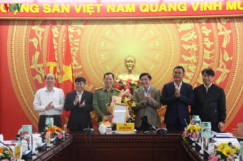 Công bố quyết định của Ban Bí thư về nhân sự Thường vụ Tỉnh ủy Đắk Lắk
