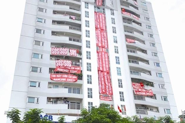UBND TP Hà Nội yêu cầu chủ đầu tư trả lại diện tích chung cho cư dân