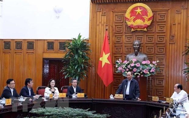 Thủ tướng Nguyễn Xuân Phúc làm việc với tỉnh Bạc Liêu