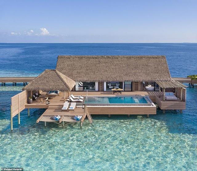 """Những """"mảnh thiên đường bé nhỏ riêng"""" tại Maldives"""