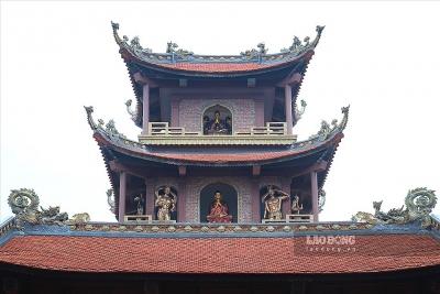 Tiêu Dao Tự - nơi tinh hoa làng nghề kết hợp với văn hóa tâm linh