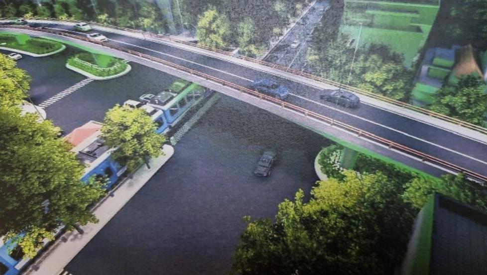 Đầu tư hơn 150 tỷ đồng xây dựng cầu vượt đường sắt Hà Nội - Thái Nguyên