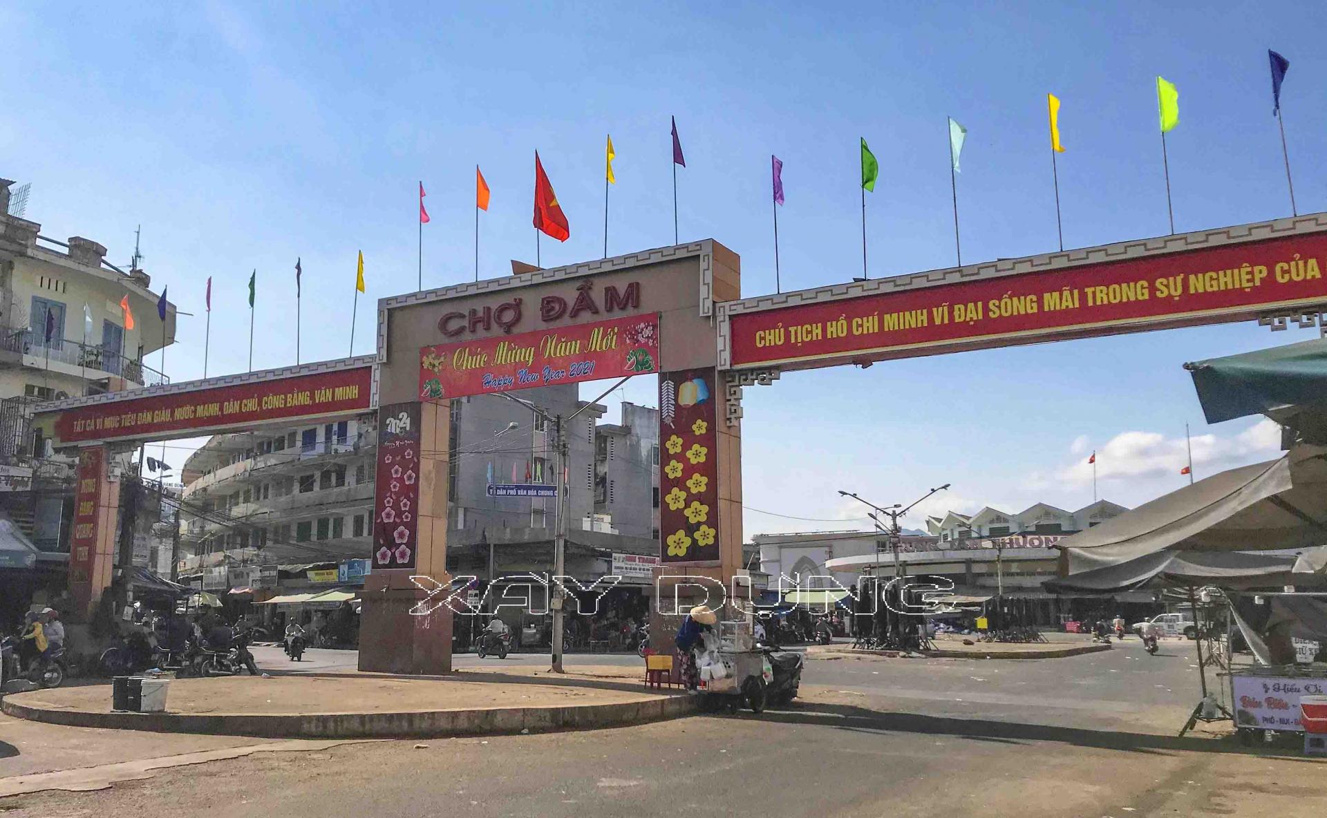 Khánh Hòa: Đóng cửa chợ Đầm – Đóng cửa một biểu tượng công trình kiến trúc độc đáo