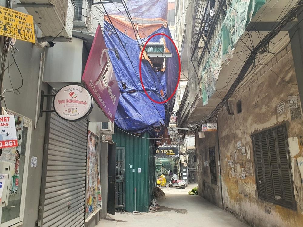 Đống Đa (Hà Nội): Phường Ô Chợ Dừa thiếu kiên quyết trong xử lý công trình xây dựng không phép tại ngõ 56 Nguyễn Phúc Lai?