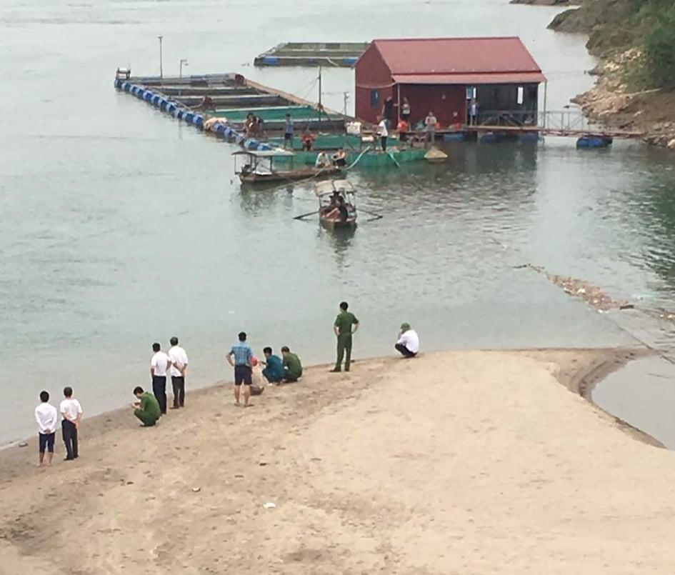 Thanh Thủy (Phú Thọ): 2 em học sinh đuối nước mất tích tại sông Đà