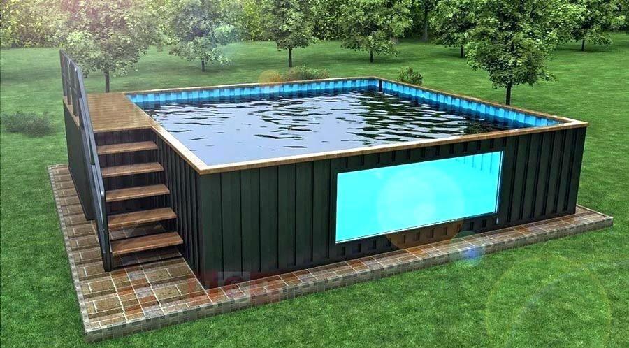 Hồ bơi container: Xu hướng mới trong kiến trúc hiện đại