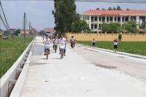 Huyện Thuận Thành, tỉnh Bắc Ninh đạt chuẩn nông thôn mới
