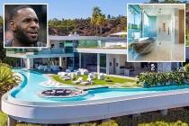 Siêu sao NBA Lebron James tậu biệt thự Hollywood Hills 51,4 triệu USD