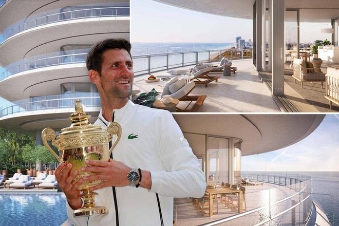 Novak Djokovic bán căn hộ 6 triệu USD