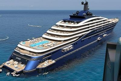 Công bố siêu du thuyền lớn nhất thế giới
