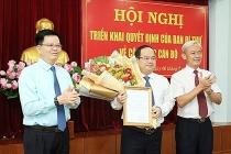 Ban Bí thư điều động Phó Trưởng Ban Tổ chức Trung ương giữ chức Phó Bí thư Tỉnh ủy