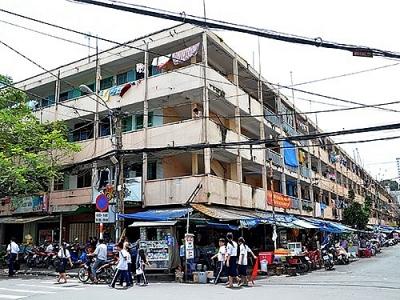 Hàng loạt chung cư ở TPHCM…chờ sập