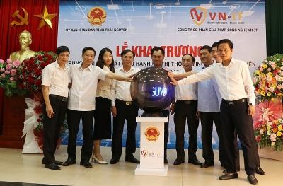 Thái Nguyên: Đưa vào hoạt động Trung tâm giám sát, điều hành đô thị thông minh