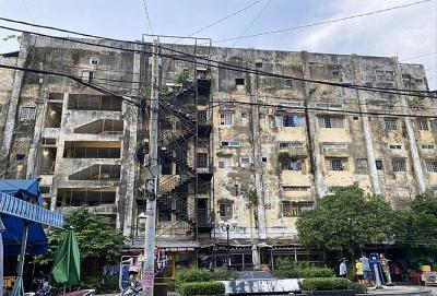Cải tạo chung cư cũ ở TPHCM: Doanh nghiệp bỏ chạy