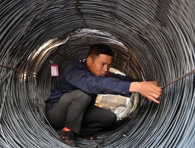 Giá thép tiếp tục giảm, về dưới mức 17 triệu đồng/tấn