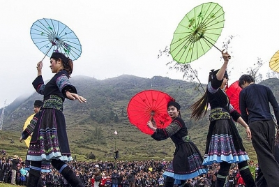Chợ tình Khâu Vai trở thành Di sản văn hóa phi vật thể Quốc gia