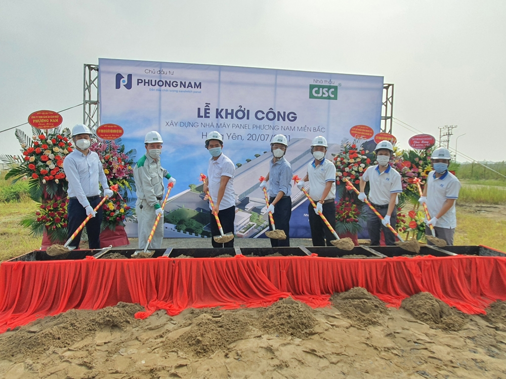 Hưng yên: Khởi công xây dựng Nhà máy Panel Phương Nam miền Bắc