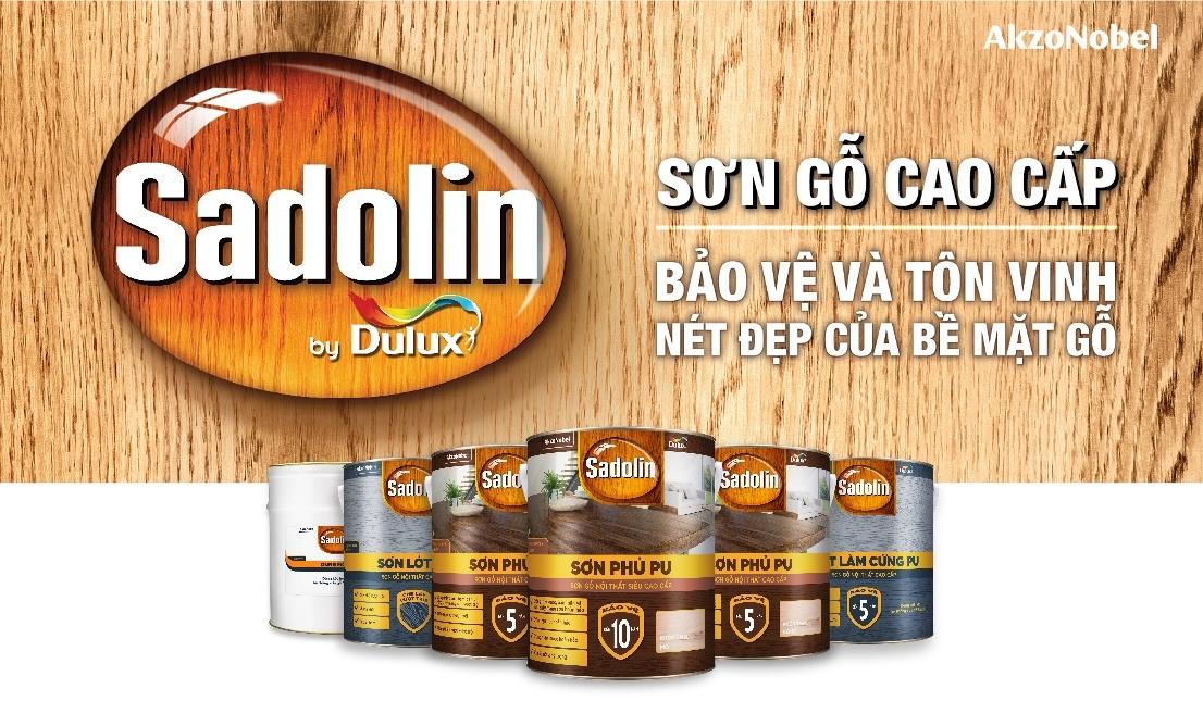 AkzoNobel ra mắt dòng sơn gỗ cao cấp Sadolin
