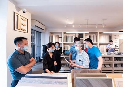 Eurostyle khai trương showroom gạch ốp lát và thiết bị vệ sinh nhập khẩu cao cấp từ Porcelanosa