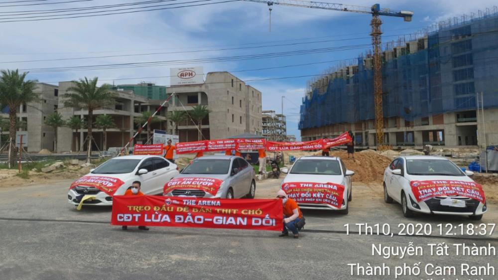 Công ty Cổ phần Trần Thái Cam Ranh phản hồi nội dung Báo điện tử Xây dựng phản ánh liên quan đến dự án The Arena