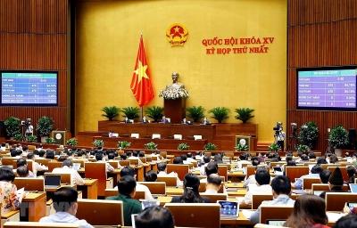 Quốc hội thông qua Nghị quyết về cơ cấu tổ chức của Chính phủ