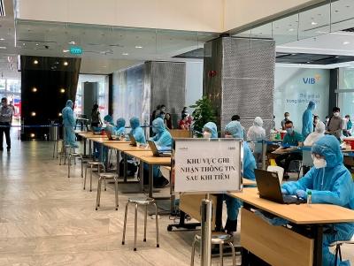 Viettel cử nhân sự công nghệ hỗ trợ chiến dịch tiêm chủng Covid-19 quy mô lớn tại Thành phố Hồ Chí Minh