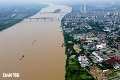 Toàn cảnh 2 khu dân cư ven sông Hồng dự kiến phải di dời theo quy hoạch