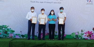 Thanh Hóa: 62 container lương thực, thực phẩm chi viện cho Thành phố Hồ Chí Minh