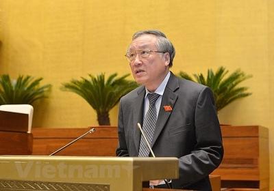 Chánh án Tòa án nhân dân tối cao tuyên thệ trước Quốc hội và nhân dân