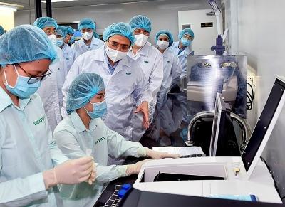 Kết luận của Thủ tướng Chính phủ Phạm Minh Chính tại cuộc họp về nghiên cứu, sản xuất vaccine phòng COVID-19