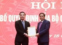 Phân công ông Chu Ngọc Anh làm Phó Bí thư thành ủy Hà Nội