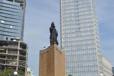 Mời người dân góp ý phương án tôn tạo tượng đài Đức thánh Trần Hưng Đạo