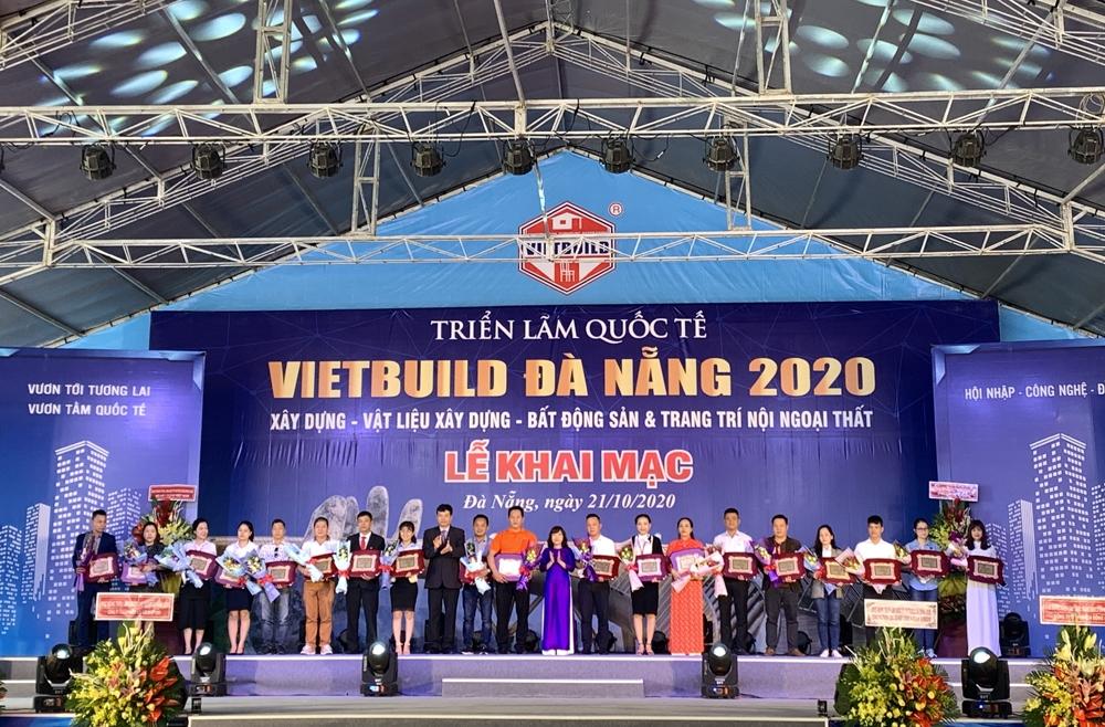 Đà Nẵng: Khai mạc Triển lãm quốc tế Vietbuild 2020