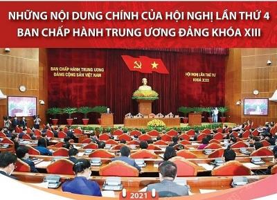 Những nội dung chính của Hội nghị lần thứ tư Ban Chấp hành Trung ương