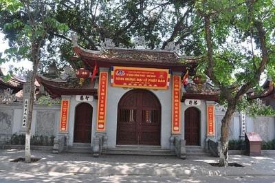 Điều chỉnh Dự án tu bổ, tôn tạo di tích chùa Hòe Nhai