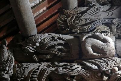 Vũ điệu rồng bên trong ngôi đình cổ ở Hà Nội
