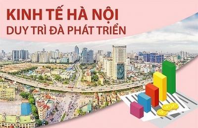 Kinh tế thủ đô Hà Nội duy trì đà tăng trưởng