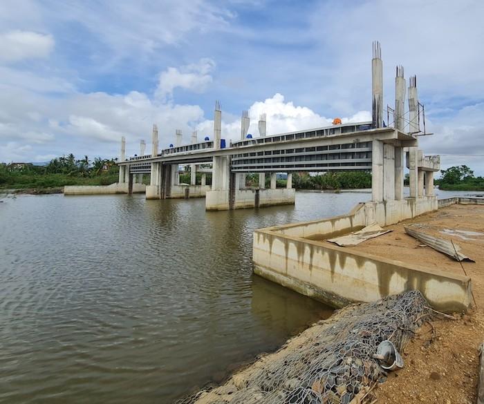 Quảng Ngãi: Thanh tra toàn diện dự án đập ngăn mặn Bình Nguyên - Bình Phước