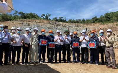 Thứ trưởng Bộ Giao thông vận tải Lê Anh Tuấn thăm Dự án cao tốc Cam Lâm - Vĩnh Hảo