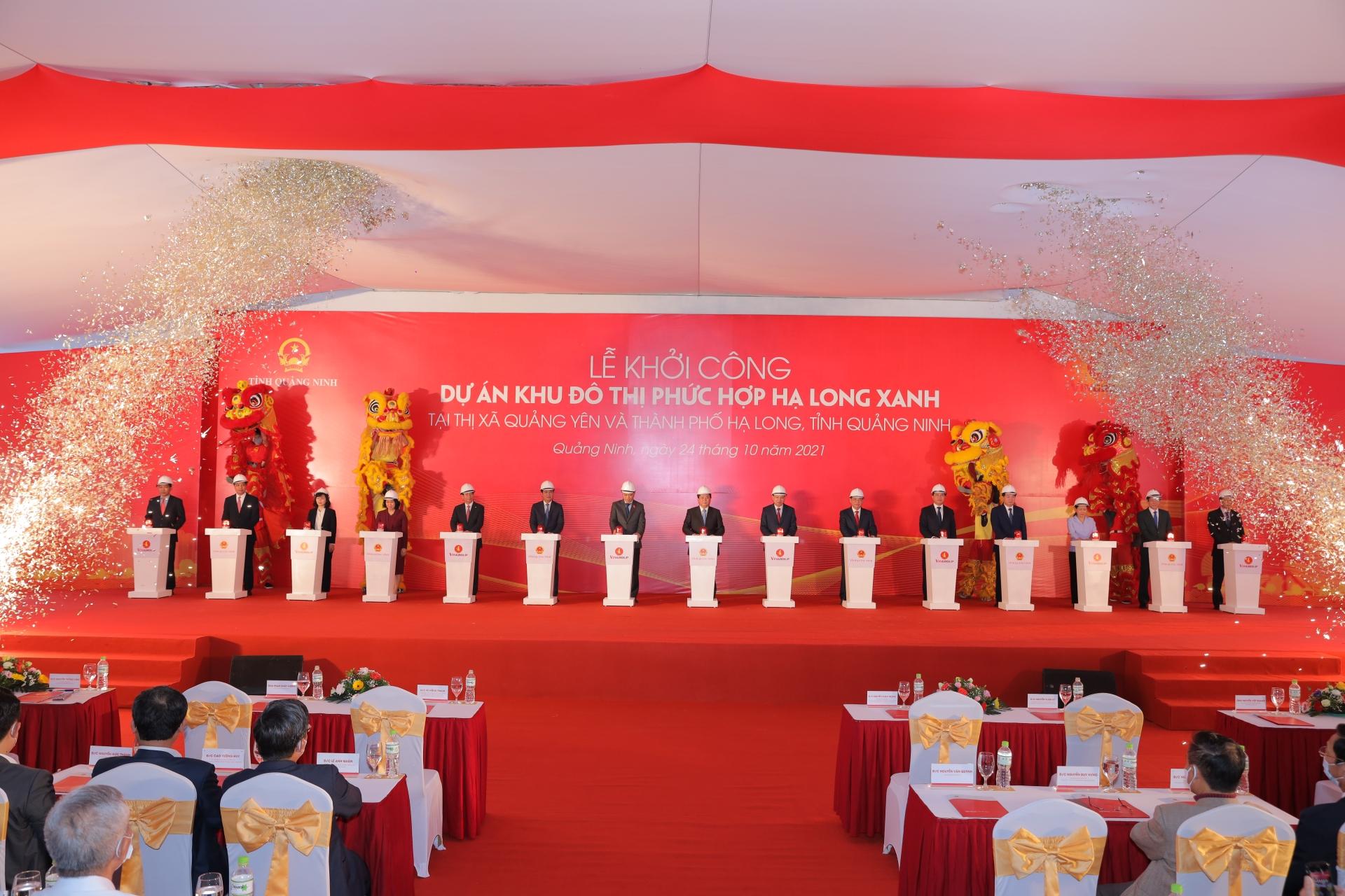 Quảng Ninh khởi công và khởi động liên tiếp 4 siêu dự án trọng điểm lên đến 283.000 tỷ đồng
