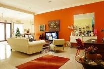 Những màu sơn giúp ngôi nhà thêm ấm áp vào mùa đông