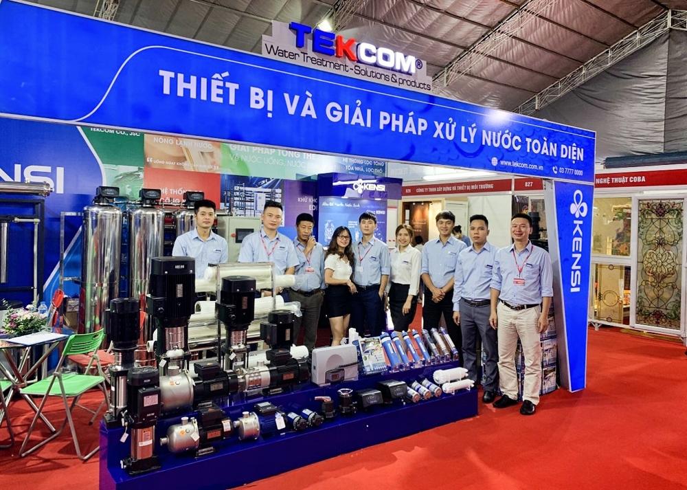 Tekcom tham gia Triển lãm Vietbuild Hà Nội 2020
