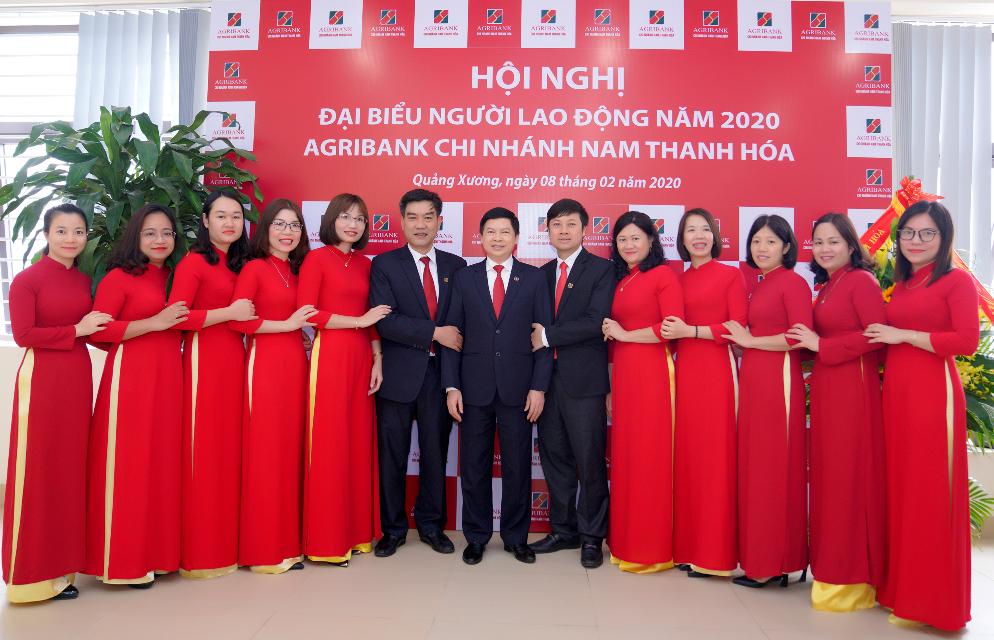 Agribank Nam Thanh Hóa:Khát vọng vươn lên tầm cao mới