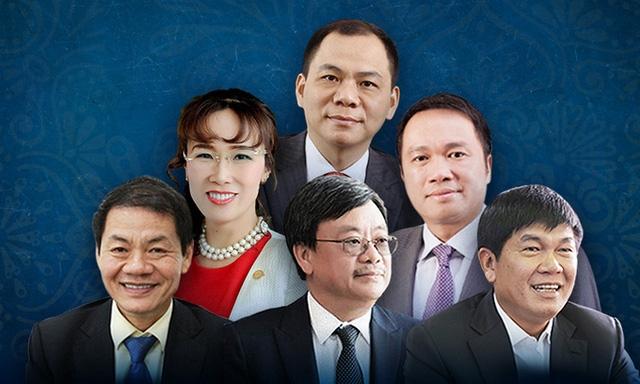 Những tỷ phú USD Việt Nam