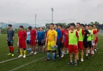 Tưng bừng giải bóng đá giao hữu nhân kỷ niệm 130 năm ngày sinh Chủ tịch Hồ Chí Minh