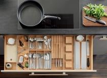Tam giác công năng và lưu ý thiết kế bếp tiện dụng, thẩm mỹ cao