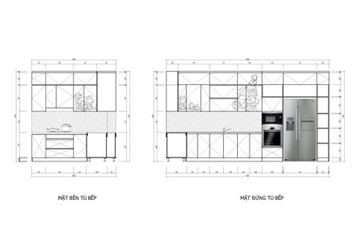 092946baoxaydung 4 Điểm nhấn tinh tế và sang trọng trong thiết kế gian bếp hiện đại